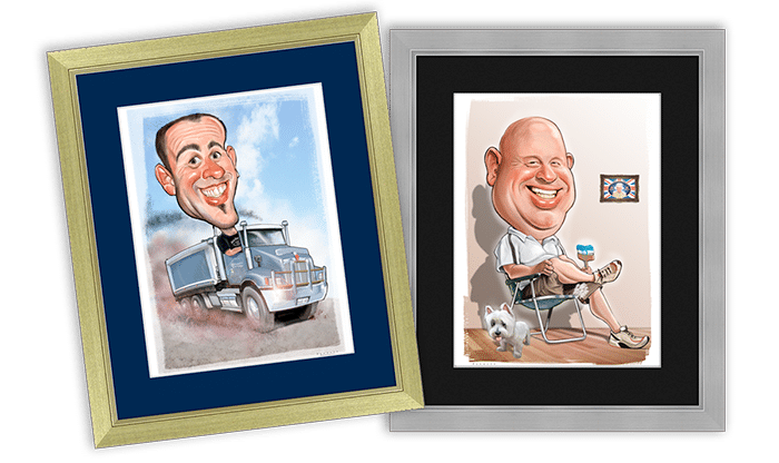 Terry Dunnett Caricatures Perth